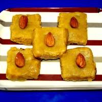 Photo of Almonds Halwa,Almonds Halwa Image