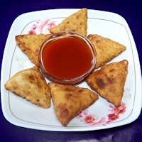 Photo of Aloo Samosa,Aloo Samosa Image