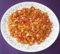 Photo of Aloo chaat,Aloo chaat Image