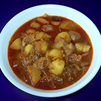 Photo of Baby Potato And Onion Curry,Baby Potato And Onion Curry Image