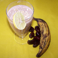 Photo of Banana And Dates Milk Shake,Banana And Dates Milk Shake Image