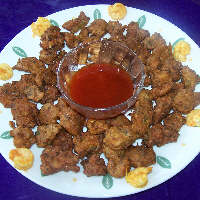 Photo of Batter Fried Prawns,Batter Fried Prawns Image