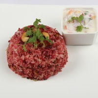 Photo of Beetroot Biriyani,Beetroot Biriyani Image