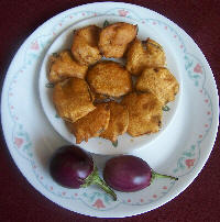 Photo of Brinjal Bhaji,Brinjal Bhaji Image