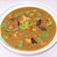 Photo of Brinjal Sambar,Brinjal Sambar Image