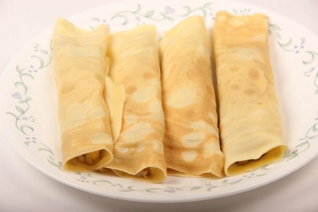 Photo of Banana Filling Pancake,Banana Filling Pancake Image