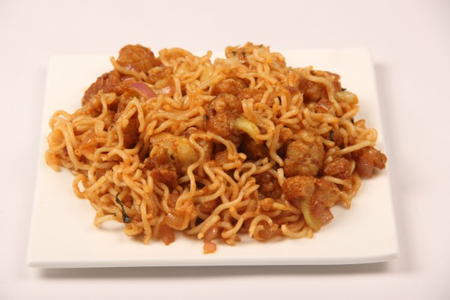 Photo of Gobi Munchurian Noddles,Gobi Munchurian Noddles Image
