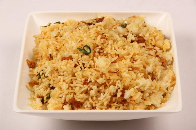 Photo of Prawns Cauliflower Biriyani,Prawns Cauliflower Biriyani Image