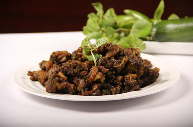 Photo of Stir Fried Minty Pepper Mutton,Stir Fried Minty Pepper Mutton Image