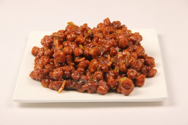 Photo of Sweet and Spicy Soya Chunks,Sweet and Spicy Soya Chunks Image