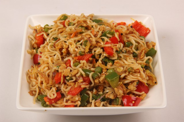 Photo of Vegetable and Egg Noodles,Vegetable and Egg Noodles Image